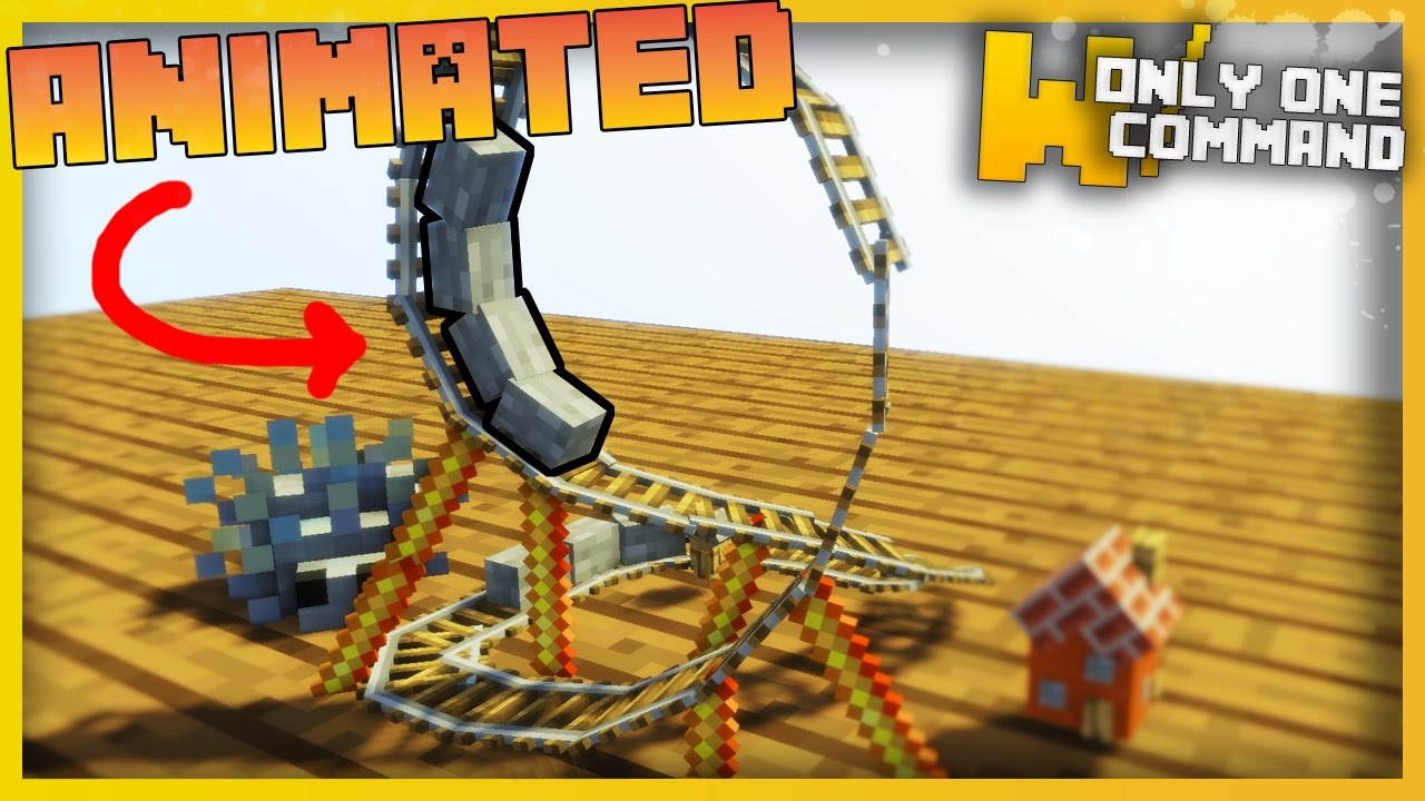 TINIEST MINECRAFT ROLLER COASTER EVER