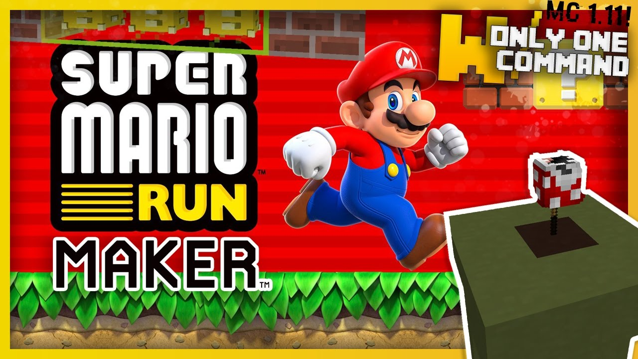 SUPER MARIO RUN MAKER